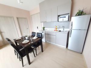 For RentCondoOnnut, Udomsuk : For rent Whizdom Connect Sukhumvit 101. 2 bedrooms, 64 sq m, near BTS Punnawithi.