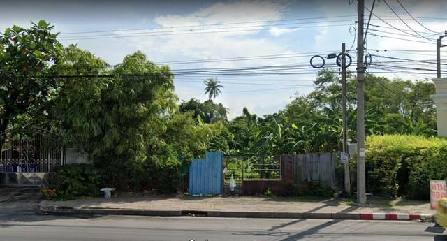 For SaleLandThaphra, Wutthakat : Land for sale 5-0-44 rai, Ratchaphruek area, next to Ratchapruek Road. Near BTS Bang Wa