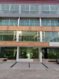 For RentHome OfficeChengwatana, Muangthong : HR700 4-storey home office for rent, Prime Biz-Home project, Liab Klongprapa, Chaengwattana.