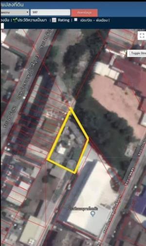 For SaleLandRatchadapisek, Huaikwang, Suttisan : 🔥🔥 Land for sale in Huay Kwang, very cheap, urgently 🔥🔥