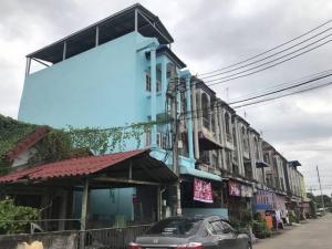 For SaleShophouseRamkhamhaeng,Min Buri, Romklao : Commercial building for sale, Nong Chok, Watthana Thani, Khlong Sip Song, Bangkok, corner room