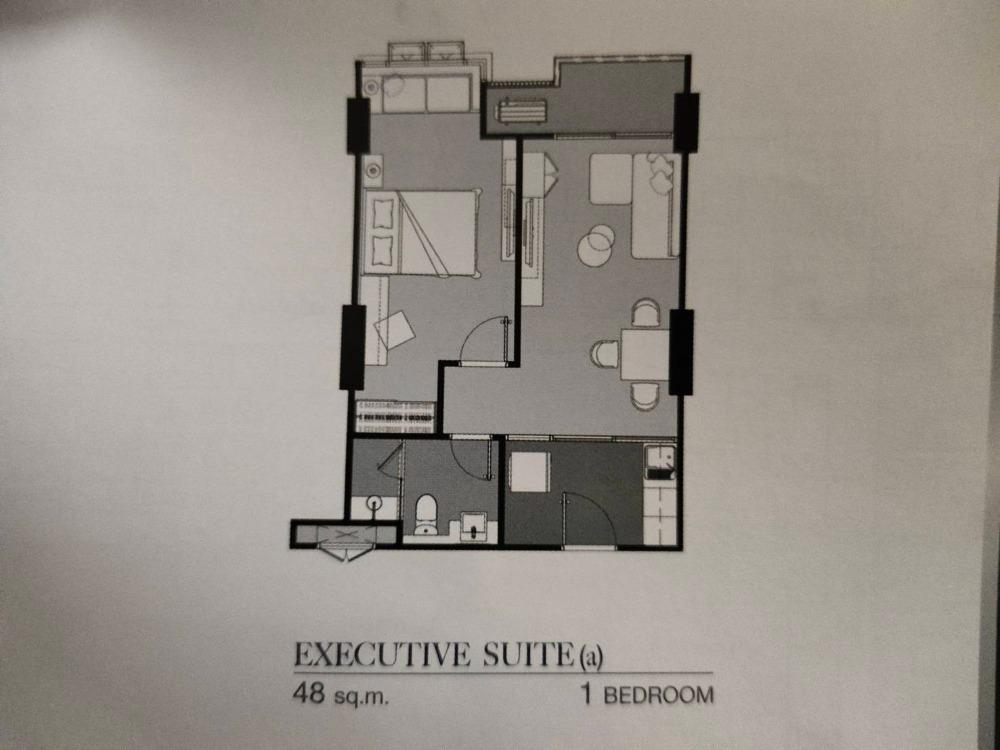 Sale DownCondoWongwianyai, Charoennakor : Sale down payment Supalai Premier Charoen Nakhon, 1 bedroom, 1 bathroom, 18th floor, pool view, Icon Siam side, 5.83 million baht.