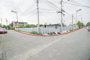 For SaleLandRattanathibet, Sanambinna : Land for sale, corner plot Ngamwongwan, Ministry of Public Health, Soi Sirichai, Nonthaburi.