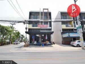 For SaleShophouseMahachai Samut Sakhon : Urgent sale, commercial building, trading location, Soi Wirunrat (Wat Tha Mai), Krathumban, Samut Sakhon