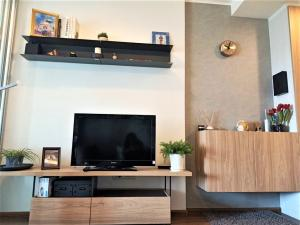 For RentCondoRama3 (Riverside),Satupadit : Condo for rent, U Delight Residence Riverfront Rama 3, river view (not temple view), 9th floor, price only 12,000 baht, electrical appliances and furniture are ready.