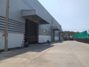 For RentWarehouseChengwatana, Muangthong : Warehouse for rent in Pak Kret, Khlong Khoi subdistrict, area 450 sq m, good location, trailer in - convenient exit Warehouse for rent in Pak Kret, Khlong Khoi Subdistrict, area 450 sq m, good location