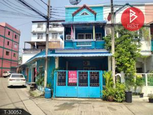 For SaleTownhouseBang Sue, Wong Sawang : 2-storey townhouse for sale, Chakorn Ville Village, Nong Chok, Krangthep Mahanakorn