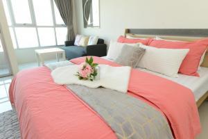 For SaleCondoRamkhamhaeng, Hua Mak : Condo near BTS Inspire Place, ABAC Rama 9, 29 sq m, beautiful room, good view.
