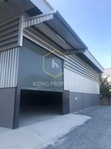 For RentWarehouseEakachai, Bang Bon : Warehouse for rent on Bang Bon 4, Bang Bon District, Area 200 sq m.