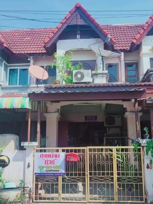 For SaleTownhouseRama 2, Bang Khun Thian : CH0115A Townhouse for sale. Tha Kham - Rama 2 area, VK Home Village
