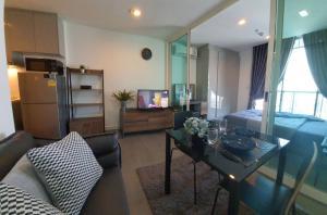 For SaleCondoRama9, RCA, Petchaburi : For Sale-Rent 1 bed 33.4  Sqm._Condo A Space ID Asoke-Ratchada_MRT: Rama 900_600 m.
