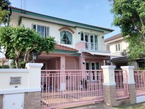 For RentHouseChengwatana, Muangthong : House for rent, 55 sq m, Nanthawan Prachachuen, fully furnished, near Chaengwattana Government Center