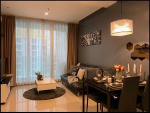 เช่าคอนโดพระราม 9 เพชรบุรีตัดใหม่ : ให้เช่า TC Green Condominium ชั้นสูง อาคาร D ขนาด 39 ตรม.   1 ห้องนอน  ห้องสวยราคาพิเศษ