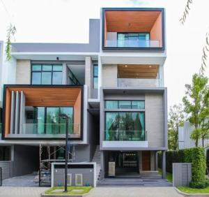 For SaleTownhousePattanakan, Srinakarin : (Sale) ** Modern 3.5-storey townhome on New Road, Srinakarin-Romklao, Nirvana Define Srinakarin-Rama 9 Project **
