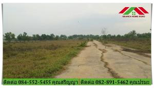 For SaleLandAyutthaya : Land for sale 200 sq m. M. Alisara Place 2, land reclamation, Lakchai Road, Lat Bua Luang, suitable for building houses and agricultural gardening, contact 084-5525455