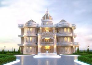 For SaleHousePattaya, Bangsaen, Chonburi : 💥 For sale 🏦 Luxuary mansion Neo Classic Style👉 Price 129 million baht 💥 The main feng shui.