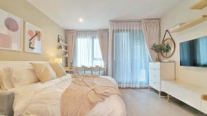For RentCondoLadprao, Central Ladprao : 🌟 Wow! Nice room, very cozy! For rent, Life Ladprao, beautiful room, ready to move in.