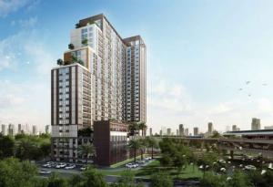 For RentCondoThaphra, Wutthakat : Casa Condo Ratchada Ratchapruek, ready to move in, 37 sqm, prices start at 12000 baht.