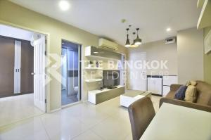 For SaleCondoRama9, RCA, Petchaburi : Urgent sale Aspire Rama 9, only 4.39 million, 49 sq m, 2 bedrooms, 1 bathroom, beautiful room, ready to move in near MRT Rama 9.