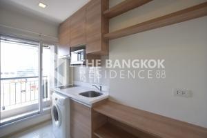 For RentCondoRatchadapisek, Huaikwang, Suttisan : Rhythm Ratchada-Huaykwang, rent only 13,000 baht/month, 1 bedroom, 1 bathroom, 36 sq.m., next to MRT Huai Khwang.