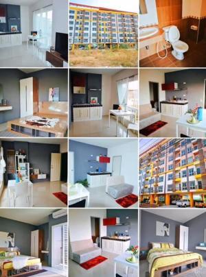 For SaleCondoPattaya, Bangsaen, Chonburi : The Luft Condominium The Luft Condo Muang Chon Buri Second hand room with tenants.