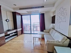 เช่าคอนโดรัชดา ห้วยขวาง : RENT !! Condo Amanta Ratchada, MRT Thailand Cultural Centre, 2 Bed, Tower 1, Fl. 6, Area 85 sq.m., Rent 30,000 Baht