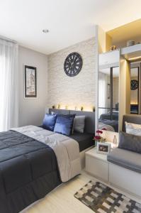 เช่าคอนโดบางนา แบริ่ง : For Rent 租赁式公寓 Ideo mobi eastgate (studio)22sq.m. 10,000 THB Tel. 065-9899065