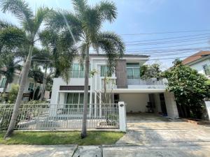 For SaleHouseRama5, Ratchapruek, Bangkruai : House for sale, Villa Park Rattanathibet, corner 4 bedrooms, cheap