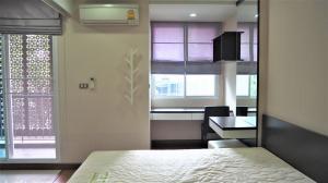 For RentCondoSukhumvit, Asoke, Thonglor : For rent Tree Condo Ekkamai, near BTS Ekkamai, 5 minutes, price 16,000 baht.