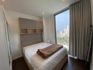 เช่าคอนโดสาทร นราธิวาส : ปล่อยเช่าคอนโด Nara 9 ชั้น 25 ขนาด 2 ห้องนอน พื้นที่กว้าง เฟอร์ครบ ใกล้ BTS ช่องนนทรี