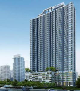 For SaleCondoRama9, RCA, Petchaburi : Urgent sale, luxury suite, 37th floor, PH, cheapest price in the project, 78 sqm.
