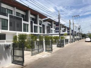 For RentTownhouseLadprao 48, Chokchai 4, Ladprao 71 : NA-H3013 Townhome for rent, 3 floors, Cozy Satiwithaya 2, Soi 23, brand new, area 30 sq m.