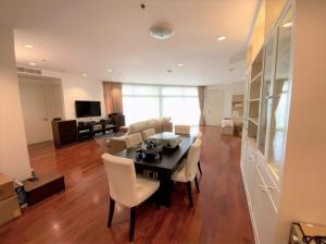 เช่าคอนโดสาทร นราธิวาส : For rent >> Chatrium Riverside Residence 3 bedroom. High floor city view.