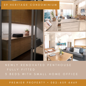 For SaleCondoSukhumvit, Asoke, Thonglor : Penthouse 3 bedrooms Thonglor for sell
