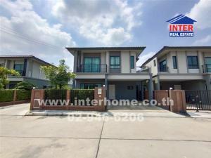 For SaleHouseRangsit, Patumtani : 🏡 2-storey detached house for sale, 47.1 sq.w., The Plant Village Saphan Nonthaburi-Bang Bua Thong Road