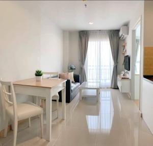 For RentCondoBang Sue, Wong Sawang : Condo for rent, Rich Park, @Bangson station, 24th floor, 29 sq m, 1 bedroom, cheap 7,500 baht, fully furnished, next to MRT Bang Son.