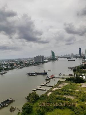 For RentCondoRama3 (Riverside),Satupadit : Condo for rent, U Delight Residence Riverfront Rama 3, view room on Rama 9 bridge side