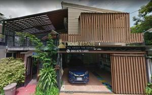 For RentHouseRamkhamhaeng, Hua Mak : Single house for rent / sale near Ramkhamhaeng University - Seri 4 Village Soi Rama IX 43 - 5 bedrooms