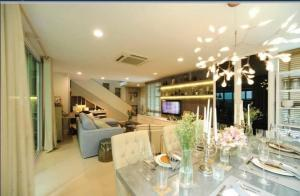 For RentHouseRatchadapisek, Huaikwang, Suttisan : Rental: House with Private Pool in Suthisarn