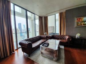 For RentCondoSathorn, Narathiwat : Super Luxury Condo For Rent The Sukhothai Residences 3Bedroom