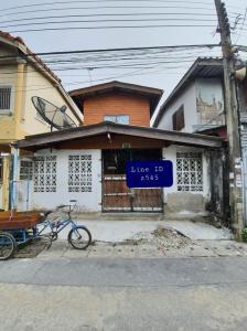 For SaleTownhouseRamkhamhaeng,Min Buri, Romklao : 2 storey house for sale, Soi Kheha Rom Klao 29, area 18 sq.w.