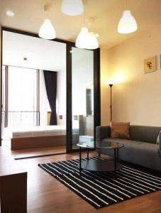 For RentCondoOnnut, Udomsuk : For rent Hasu Haus, high room, view Habito.