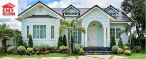 For SaleHouseChiang Rai : Villa for sale Single-storey house in Chiang Rai, Mae Sai Garden City Project, Chiang Rai, on Phaholyothin Road. Near the entrance of Khun Nam Nang Non, Tham Luang