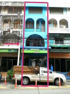For SaleShophousePattanakan, Srinakarin : Urgent sale !! The cheapest sale !! 4-storey commercial building for sale, 1 booth, 19.5 square wa., With laundry business, next to Soi Pattanakarn 61, entrance in front of Muang Thong University 2/2, prime location, near 3 BTS lines - Airport link, Hua M