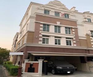 เช่าทาวน์เฮ้าส์/ทาวน์โฮมสุขุมวิท อโศก ทองหล่อ : For Rent ให้เช่า ทาวน์โฮม 4 ชั้น หมู่บ้านพลัส ซิตี้ พาร์ค สุขุมวิท 101/1 Plus City Park บ้าน Renovate ใหม่ สภาพใหม่ แอร์ 6 เครื่อง เฟอร์นิเจอร์ครบ อยู่อาศัยเท่านั้น ไม่อนุญาตสัตว์เลี้ยง