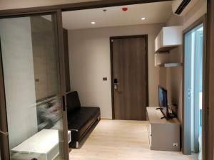 เช่าคอนโดท่าพระ ตลาดพลู : ให้เช่า-Whizdom Station Ratchada-Thapra 1 Bedroom Floor 18 Size 27.05 sq.m.