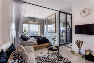 For RentCondoRattanathibet, Sanambinna : For rent Aspire Rattana Tibet 2 condo 1 bedroom 1 bathroom 30.72 sq m, 20th floor