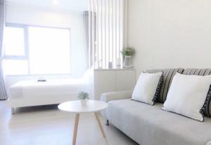 For RentCondoThaphra, Talat Phlu, Wutthakat : For rent  Aspire Sathorn Thapra  Studio , size 23 sq.m., Beautiful room, fully furnished.