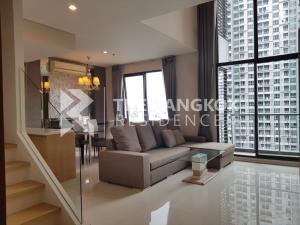 For RentCondoRama9, RCA, Petchaburi : Villa Asoke for rent, very cheap. 34,000 baht per month 80Sqm 1 bedroom 2 bathroom near MRT Phetchaburi