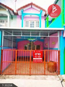 For SaleTownhouseMahachai Samut Sakhon : Cheap 2-storey townhouse for sale, Sivarat Village 1 Economy - Rama II Near Central Rama 2